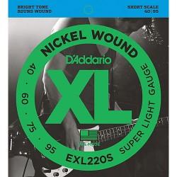 Daddario EXL220S (short...
