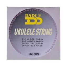 Dadi UK080N cordas ukulele