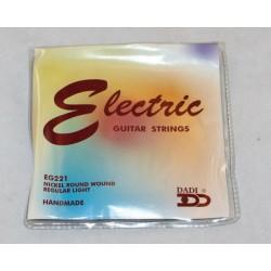 Dadi EG221 cordas guit....
