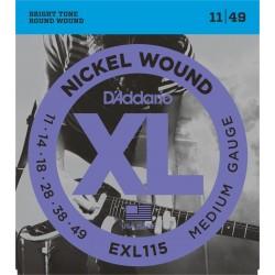 Daddario EXL115 cordas...