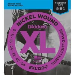 Daddario EXL120-7 (7 cordas...