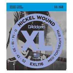 Daddario EXL116 cordas...