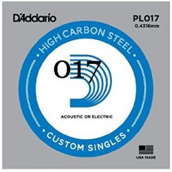 Daddario PL017 corda 017 em...