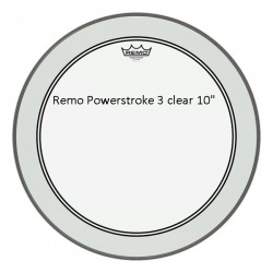 Remo Powerstroke 3 Clear 10""