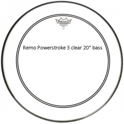 """Remo Powerstroke 3 Clear 20"""""""
