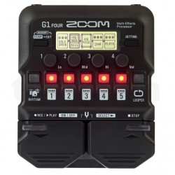 Zoom G1 four multieffets pedal