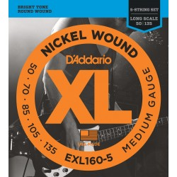 Daddario EXL160-5 (50-135)