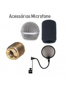 Acessórios Microfone